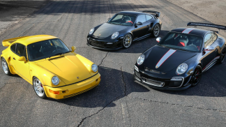 3 rare porsches auction