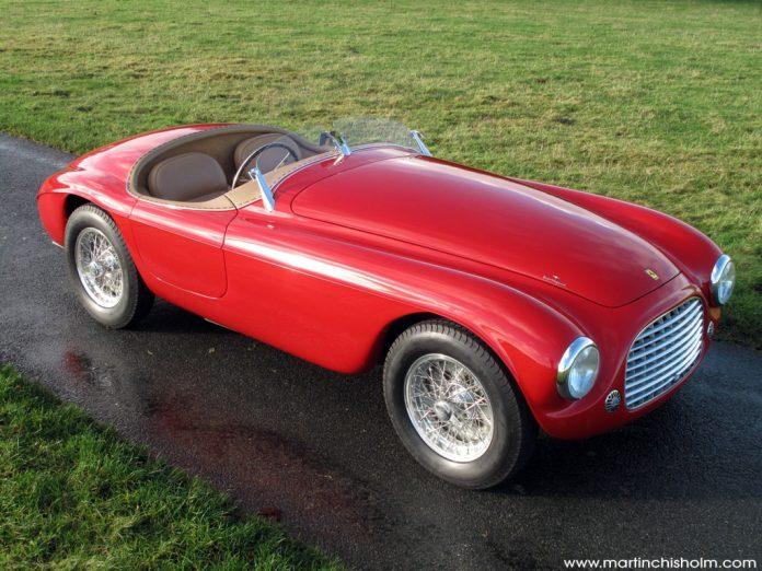 1950 Red Ferrari