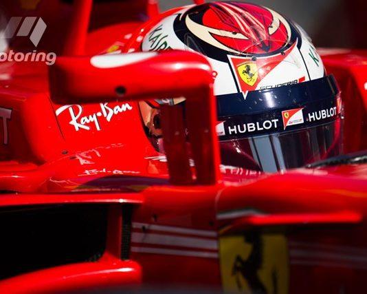Testing of Ferrari at Australian Grand Prix in Melbourne 2017